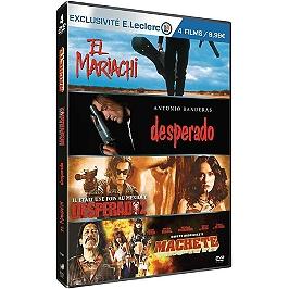 Coffret Robert Rodriguez 4 films, édition limitée spéciale E. Leclerc, Dvd