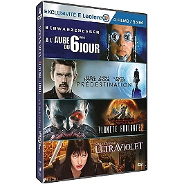Coffret science fiction, vol. 1, 4 films, édition limitée spéciale E. Leclerc, Dvd