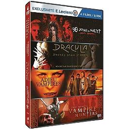 Coffret vampires 4 films, édition limitée spéciale E. Leclerc, Dvd