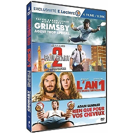 Coffret comédie, vol. 2, 4 films, édition limitée spéciale E. Leclerc, Dvd