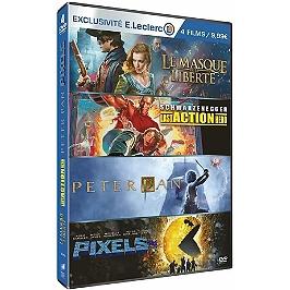 Coffret famille 4 films, édition limitée spéciale E. Leclerc, Dvd