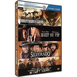 Coffret westerns modernes 4 films, édition limitée spéciale E. Leclerc, Dvd