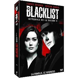 Coffret the blacklist, saison 5, 22 épisodes, Dvd