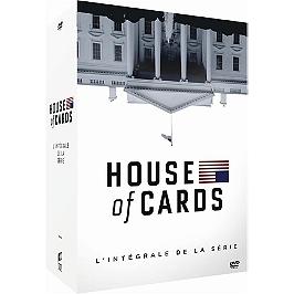 Coffret intégrale house of cards, saisons 1 à 6, Dvd