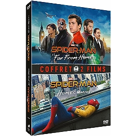 Coffret Spider-Man 2 films : homecoming ; far from home, Dvd