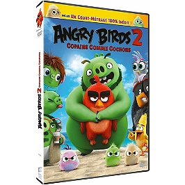 Angry birds 2 : copains comme cochons, Dvd