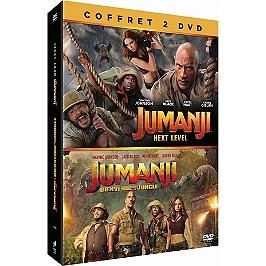 Jumanji 1 et 2 : bienvenue dans la jungle ; next level, Dvd