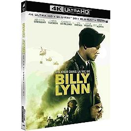 Un jour dans la vie de Billy Lynn, Blu-ray 4K