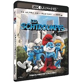 Les Schtroumpfs, Blu-ray 4K