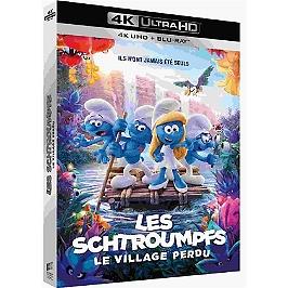 Les Schtroumpfs 3 : les Schtroumpfs et le village perdu, Blu-ray 4K
