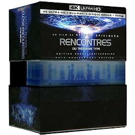 Rencontres du troisième type, édition anniversaire, Blu-ray 4K