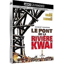 Le pont de la rivière Kwai, édition anniversaire, Blu-ray 4K