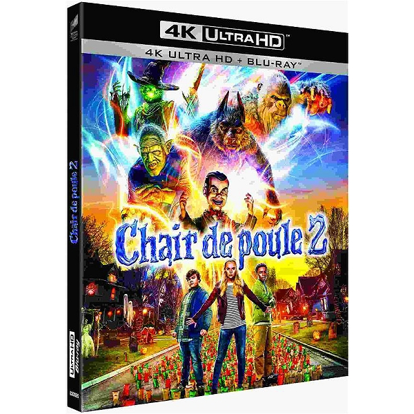 Blu Ray 4k Chair De Poule 2 Les Fantômes Dhalloween Espace