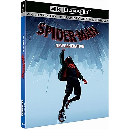 Spider-Man : new generation, Blu-ray 4K