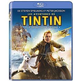 Les aventures de Tintin : le secret de la licorne, Blu-ray