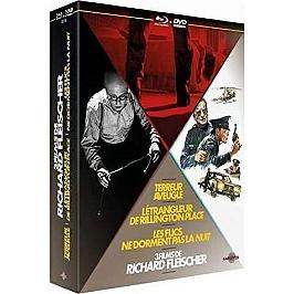 Coffret Rchard Fleischer 3 films : l'étrangleur de Rillington Place ; terreur aveugle ; les flics ne dorment pas la nuit, Blu-ray