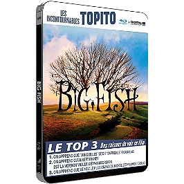 Big fish, Blu-ray