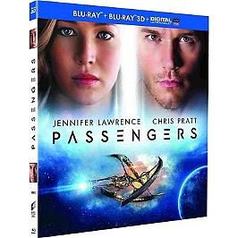 Passengers, Blu-ray 3D