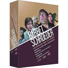 Coffret Barbet Schroeder, un regard sur le monde 5 films, édition collector, Blu-ray