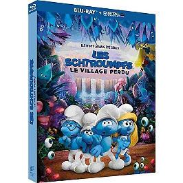 Les Schtroumpfs 3 : les Schtroumpfs et le village perdu, Blu-ray