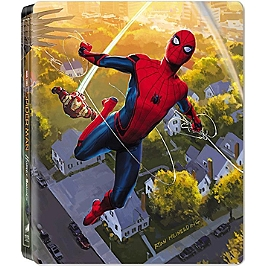 Spider-man : homecoming, Steelbook - Édition limitée, Blu-ray 3D