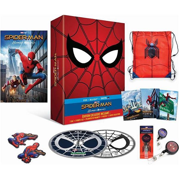 Blu Ray Coffret Spider Man Homecoming Espace Culturel E Leclerc