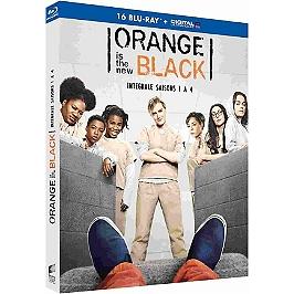 Coffret orange is the new black, saisons 1 à 4, Blu-ray