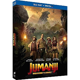Jumanji : bienvenue dans la jungle, Blu-ray