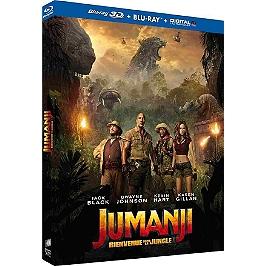 Jumanji : bienvenue dans la jungle, Blu-ray 3D