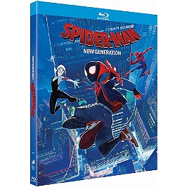 Spider-Man : new generation, Blu-ray