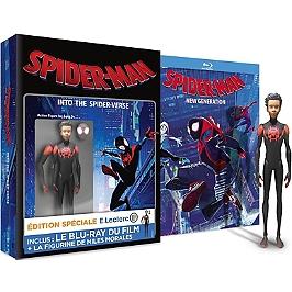 Spider-Man : new generation + jouet figurine - édition spéciale E. Leclerc, édition spéciale E. Leclerc, Blu-ray