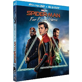 Spider-Man : far from home, Blu-ray 3D
