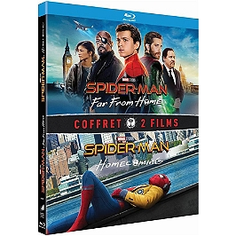 Coffret Spider-Man 2 films : homecoming ; far from home, Blu-ray