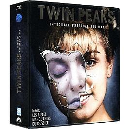 Coffret intégrale Twin Peaks, saisons 1 à 2 ; fire walk with me, édition prestige, Blu-ray