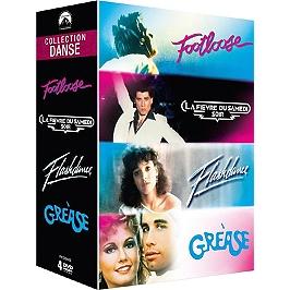Coffret danse 4 films, Dvd