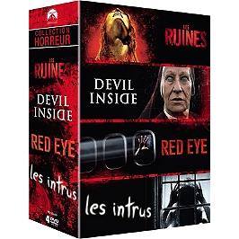 Coffret horreur 4 films, Dvd