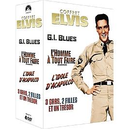Coffret Elvis 4 films, Dvd