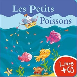 Les petits poissons, CD + Livre