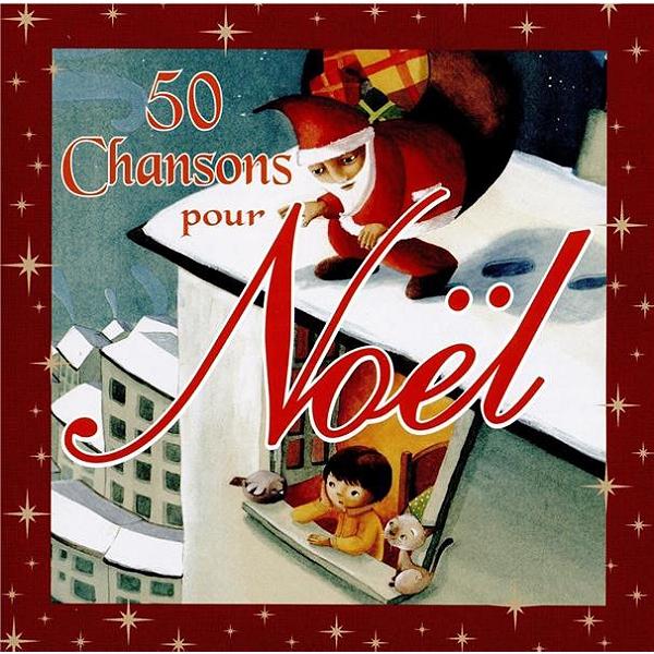 Cd 50 Chansons Pour Noël Multi Artistes Espace Culturel Eleclerc