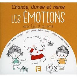 Chante danse et mime les émotions (avec Cali et ses amis), CD Digipack