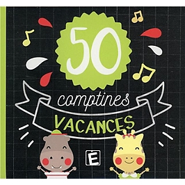 50 comptines vacances, CD Digipack