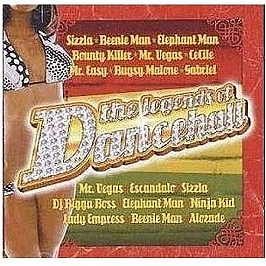 The legends of dancehall, CD
