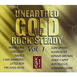 Unearthed gold of rock steady /vol.1, CD