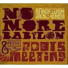 No more Babylon : roots meeting, CD Digipack