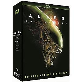 Coffret alien quadrilogy : alien 1 ; alien 2 : aliens le retour ; alien 3 ; alien 4 : alien, la résurrection, Blu-ray