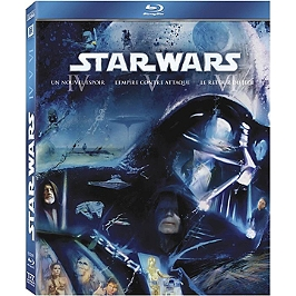 Coffret star wars trilogie, épisode 4 à 6, Blu-ray
