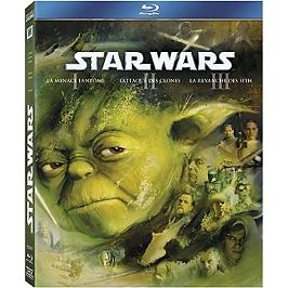 Coffret prélogie star wars, épisodes 1 à 3, Blu-ray