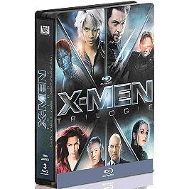 Coffret trilogie X-men : X-men ; X-men 2 ; X-men l'affrontement final, Blu-ray