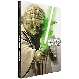 Coffret star wars prélogie : épisodes 1 à 3, Dvd
