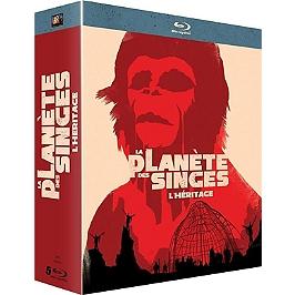 Coffret la planète des singes : l'héritage, Blu-ray